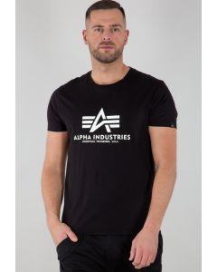 T-Shirt ALPHA INDUSTRIES Basic Kryptonite Black
