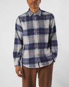 Hemd PORTUGUESE FLANNEL Bleeckers Shirt Check