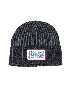 Beanie MARMOT Retro Trucker Black/Steel Onyx