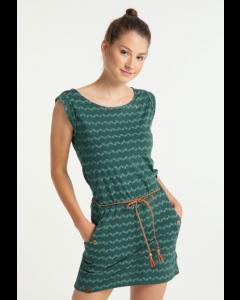 Kleid RAGWEAR Tag ZIG ZAG Dark Green