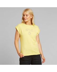 T-Shirt DEDICATED VISBY LOCAL PLANET Yellow