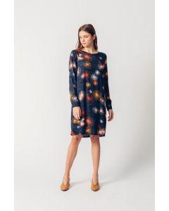 Kleid SKUNKFUNK Aura Multicolor