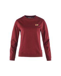 Sweater FJÄLLRÄVEN Vardag W Red Oak