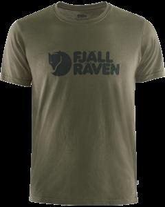 T-Shirt FJÄLLRÄVEN Logo Dark Olive