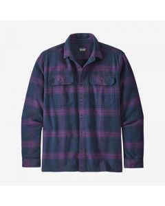 Flanellhemd PATAGONIA Long-Sleeved Fjord Burlwood: Purple