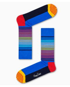 Socken HAPPY SOCKS Half Stripe Sock