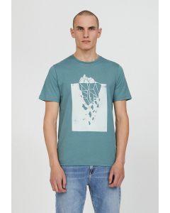 T-Shirt ARMEDANGELS Jaames Iceberg Tip Sea Green