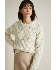 Grobstrickpullover LANIUS Offwhite