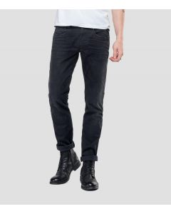 Jeans REPLAY Anbass Hyperflex Cloud Black