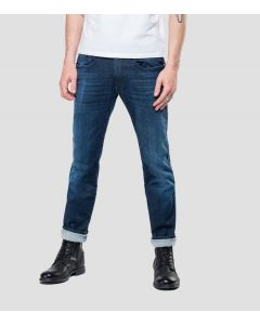 Jeans REPLAY Anbass Hyperflex Cloud Dark Blue