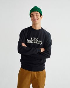 Sweatshirt THINKING MU One Humanity Black