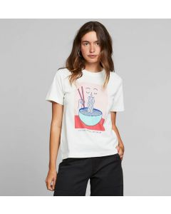 T-Shirt DEDICATED Mysen Noodle Off White