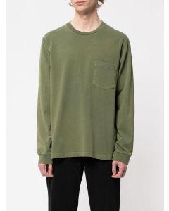 T-Shirt NUDIE JEANS Rudi Heavy Pocket Tee Olive