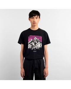 T-Shirt DEDICATED Drawn Mountain Black