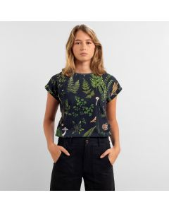T-Shirt DEDICATED Visby Secret Garden Multicolor