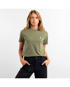 T-Shirt DEDICATED Mysen Little Bird Leaf Green