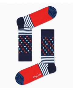 Socken HAPPY SOCKS Stripes and Dots Sock