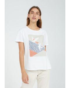 T-Shirt ARMEDANGELS Naalin Primrose Dove White