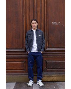 Jeanshemd CARHARTT WIP Salinac Shirt Jac Black Mid Worn Wash