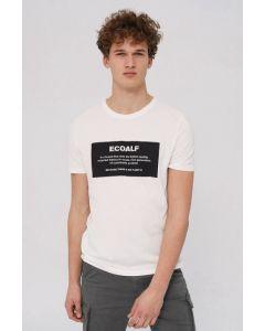 T-Shirt ECOALF Natal Label White