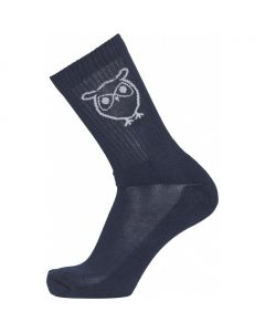 Socken KNOWLEDGE COTTON Linden Solid Owl 2 Pack