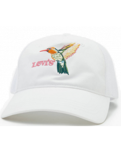 Kappe LEVI`S Mesh Back Baseball Cap Regular White