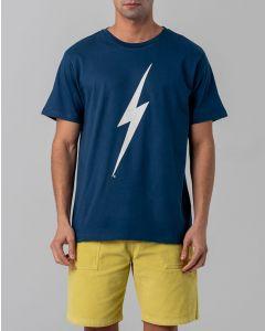 T-Shirt LIGHTNING BOLT Forever Tee Dressblue