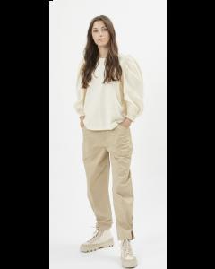 Bluse MINIMUM Gulli Short Sleeved Cornhusk