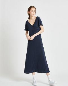 Kleid MINIMUM Siah Midi Black