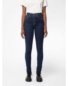 Jeans NUDIE JEANS Hightop Tilde Blue Fantasy