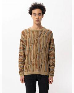 Pullover NUDIE JEANS Didrik Mixed Jacquard Multi