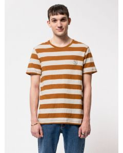 T-Shirt NUDIE JEANS Roy Stripeslub Amber