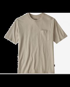 T-Shirt PATAGONIA Men's Organic Cotton Midweight Pocket Tee Pumice