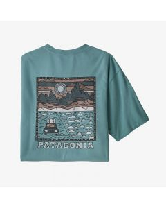 T-Shirt PATAGONIA Summit Road Upwell Blue