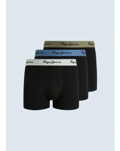 Boxershort PEPE JEANS Haig Black 3er Pack