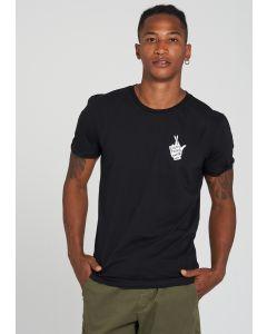 T-Shirt RECOLUTION Crossed Fingers Black