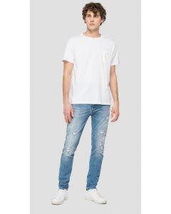 T-Shirt REPLAY White