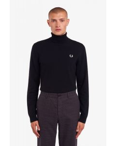 Rollkragenpullover FRED PERRY Black