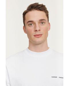 T-Shirt  SAMSØE & SAMSØE Norsbro 6024 White