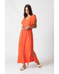 Kleid SKUNKFUNK Estebeni Orange