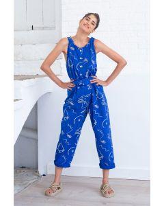 Jumpsuit SUITE 13 Yamena Blue Print