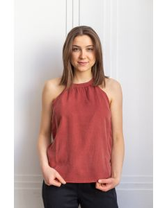 Top TENTREE Delta Henna Red