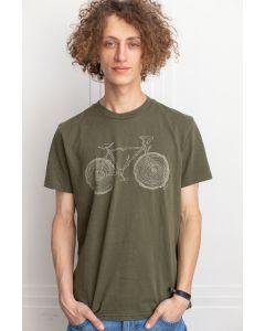 T-Shirt TENTREE Elm Olive Night