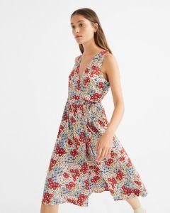 Kleid THINKING MU Amapola Dress Multicolor