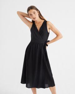 Kleid THINKING MU Amapola Dress Black