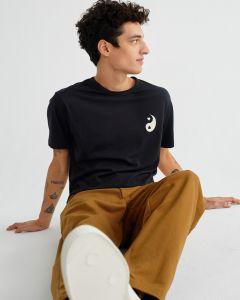T-Shirt THINKING MU Yin Yang Black