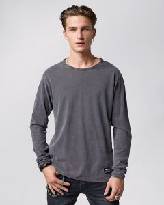 Shirt TIGHA Jonah Vintage Stone Grey