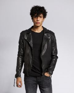 Lederjacke TIGHA Elon Black
