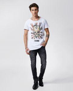 T-Shirt TIGHA Snake Skull Wren