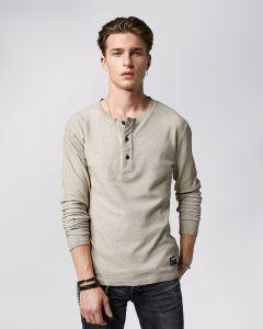 Shirt TIGHA Zach Waffle Longsleeve